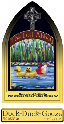 Lost Abbey Duck Duck Gooze