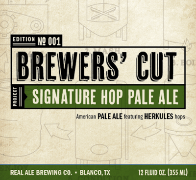 Real Ale Brewers Cut Signature Pale Ale